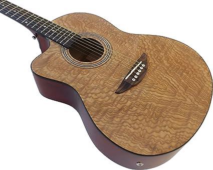 Pack de guitarra acústica electrónica para zurdos, cuerdas de ...