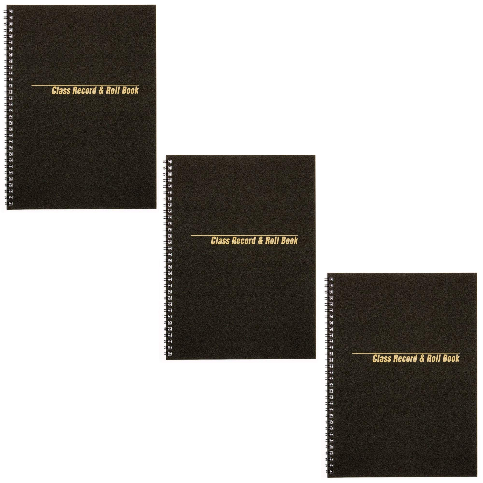 Rediform Class Record & Roll Book, 40 Sheets, 11''x8 1/2'', (33988), 3 PACK