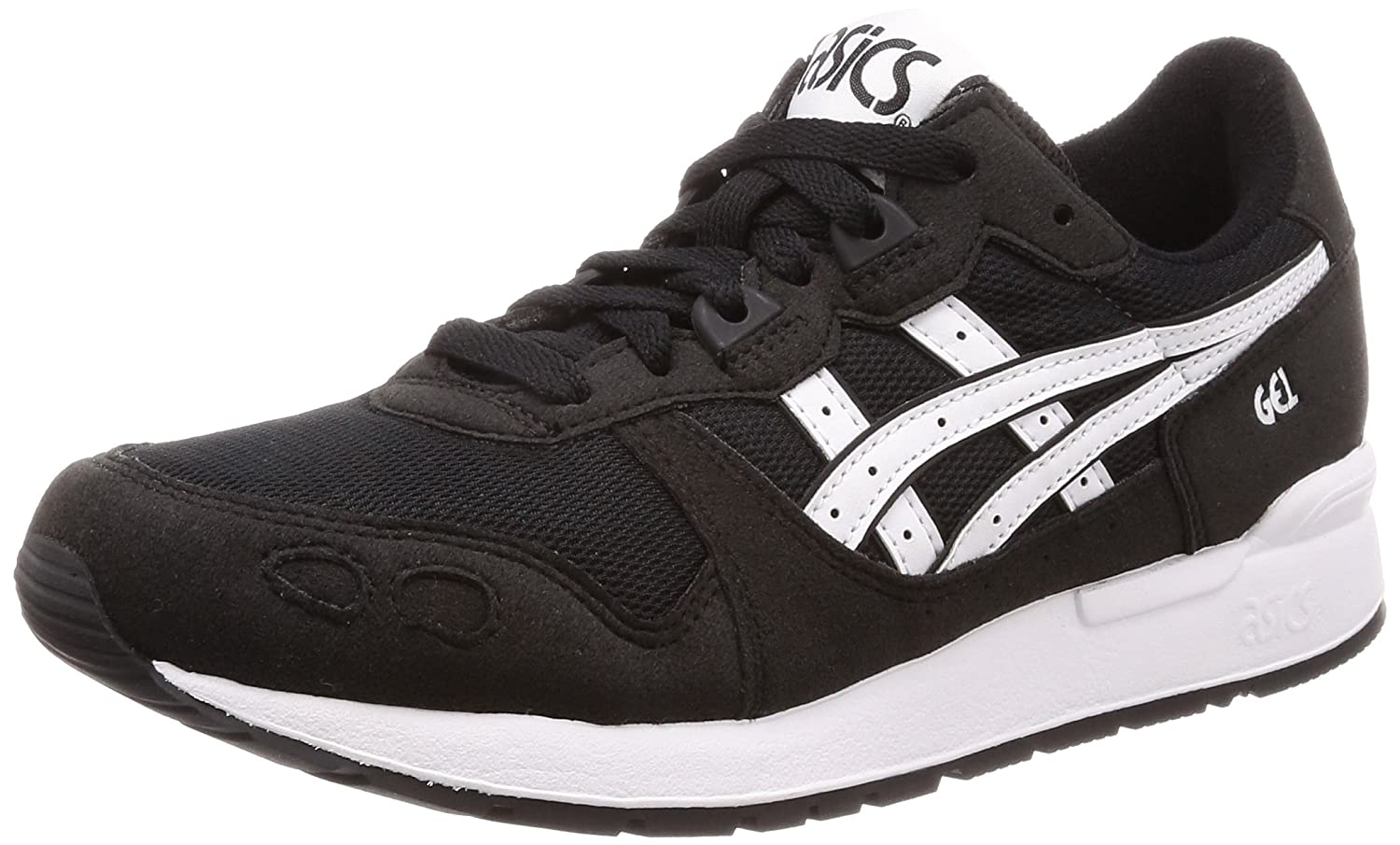Asics Gel-Lyte, Zapatillas de Running Unisex Adulto 38 EU|Negro (Black/White 001)