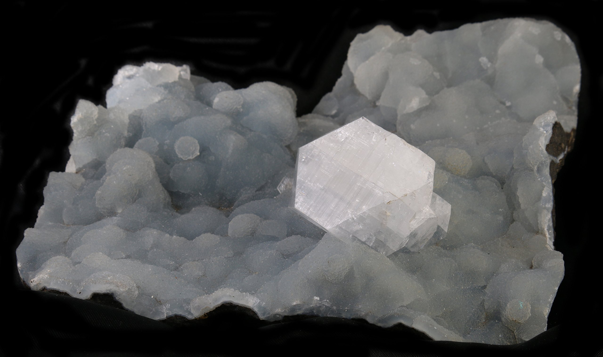 Healing Crystals Love, Apophyllite over Coral, Feng Shui Crystals and Healing Stones Log for Feng Shui Crystal Healing, Reiki, Healing Crystals and Stones 999 by Healing Crystals Love (Image #2)