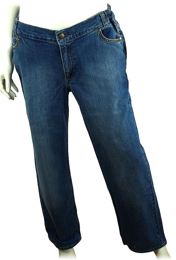 DENNIS BASSO Jeanshose Strassdetails 5 Pockets 280009BE
