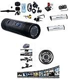 Telecamera Sportiva Full HD 1080 con Attacco Supporto Canna Fucile Caccia + 2 Batterie + SD CARD 32 GB / 5 Ore di Utilizzo Continuo