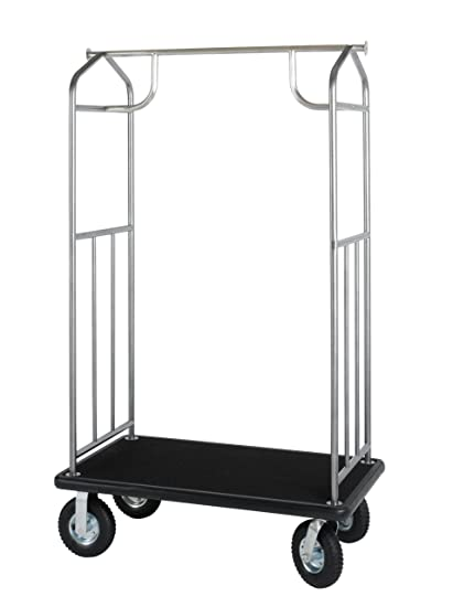 a227c7ba8743 Amazon.com: Value Valet Bellman's Cart- Hammertone Finish: Home ...