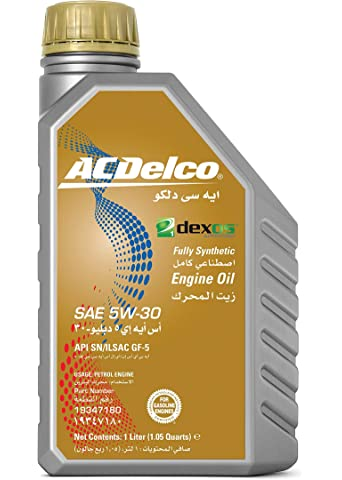 ACDelco Full Synthetic Engine Oil SAE 5W-30 DEXOS1 1L