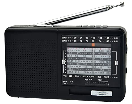 XHDATA D-328 Portable Radio FM Am SW Band MP3 Player Support with TF Card