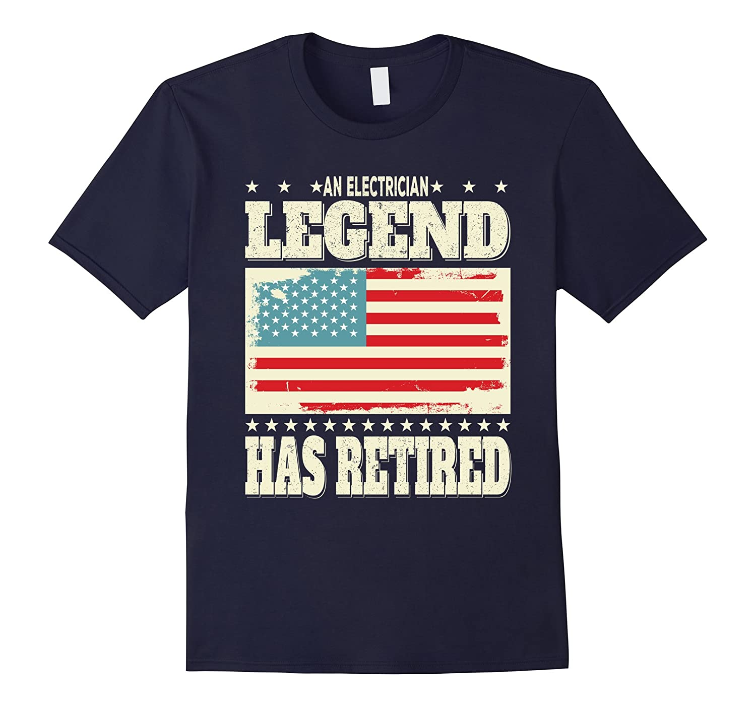 An Electrician Legend Has Retired Retirement Dad Grandpa-PL