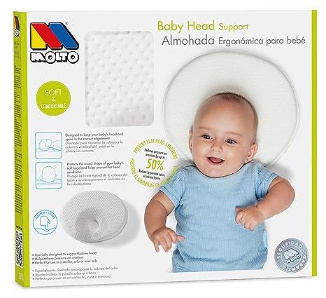 MOLTO 18710 - Almohada plagiocefalia: Amazon.es: Bebé