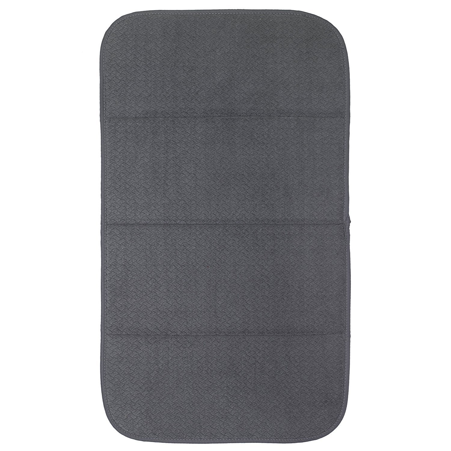 All-Clad Textiles Reversible Fast-Drying Mat, 16-Inch x 28-Inch, Pewter