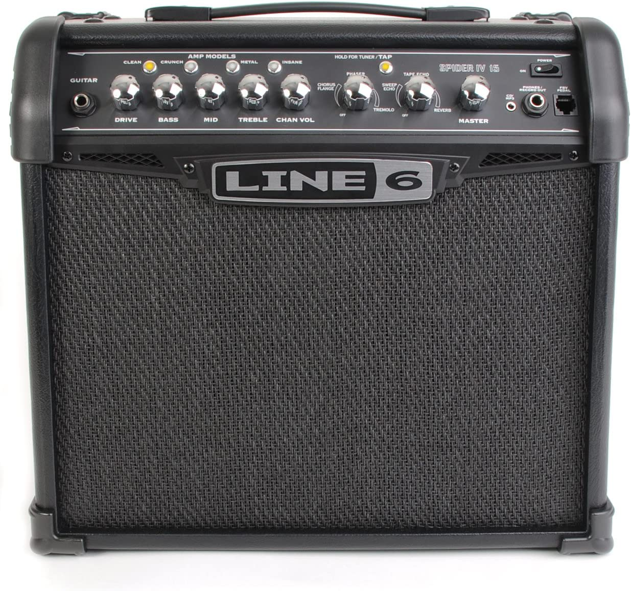 Line 6 Spider IV 15 - Amplificador para guitarra (15W, 8, CD/MP3 ...