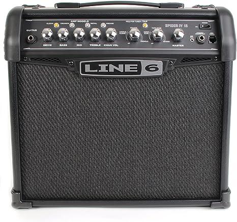 Line 6 Spider IV 15 - Amplificador para guitarra: Amazon.es ...