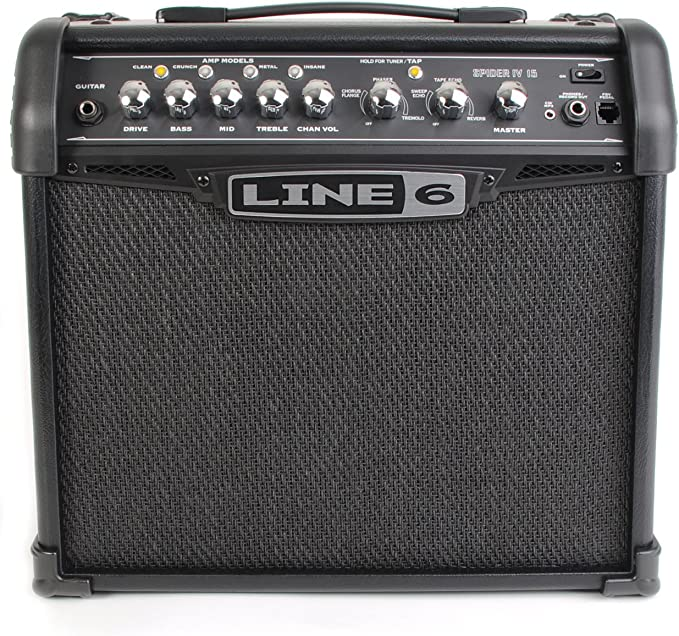 Line 6 Spider IV 15 - Amplificador para guitarra: Amazon.es ...
