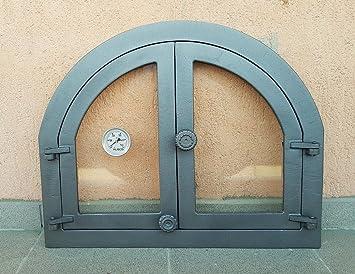 Panama Glass Oven Oven Door Cast Iron Pizza Oven Stone Oven Door Cast Iron