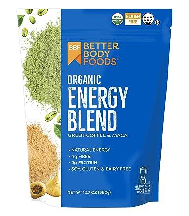 BetterBody Foods & Nutrition mezcla de energía orgánica café ...