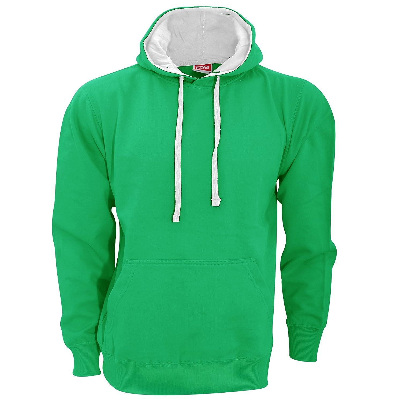 FDM Unisex Contrast Hooded Sweatshirt/Hoodie (300 GSM)