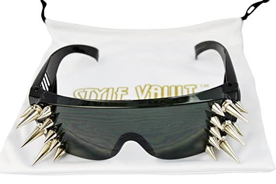 Amazon.com: A158 Aviator Turbo Studded Spiked Fiesta ...