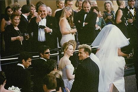 Tom Crusie Wedding.Vintage Photo Of Tom Cruise And Nicole Kidman Attend The Wedding