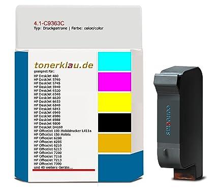 compatible Impresión tinta/c9363 C de 4.1 de tinta para: HP ...