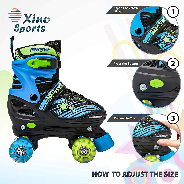 Xino Sports Kids Adjustable Roller Skates - 2
