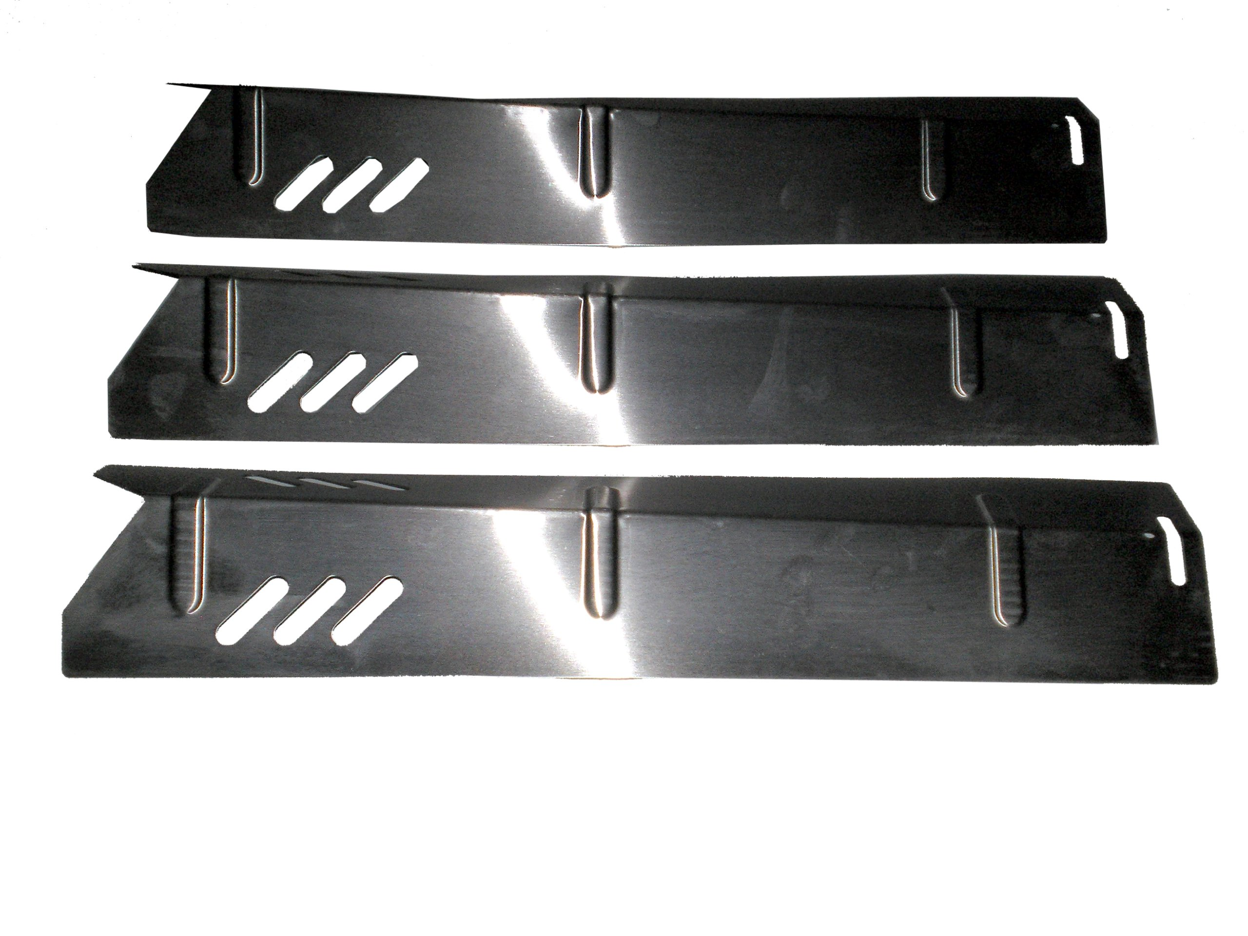 Set of 3 Heat Plates for Uniflame and Better Home and Gardens BBQ Grill GBC1273W, BH12-101-001-02