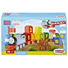 Mega Bloks - CYM77 - 123 Count with Thomas and Friends Learning Train - 35 Piece Junior Builder Playset