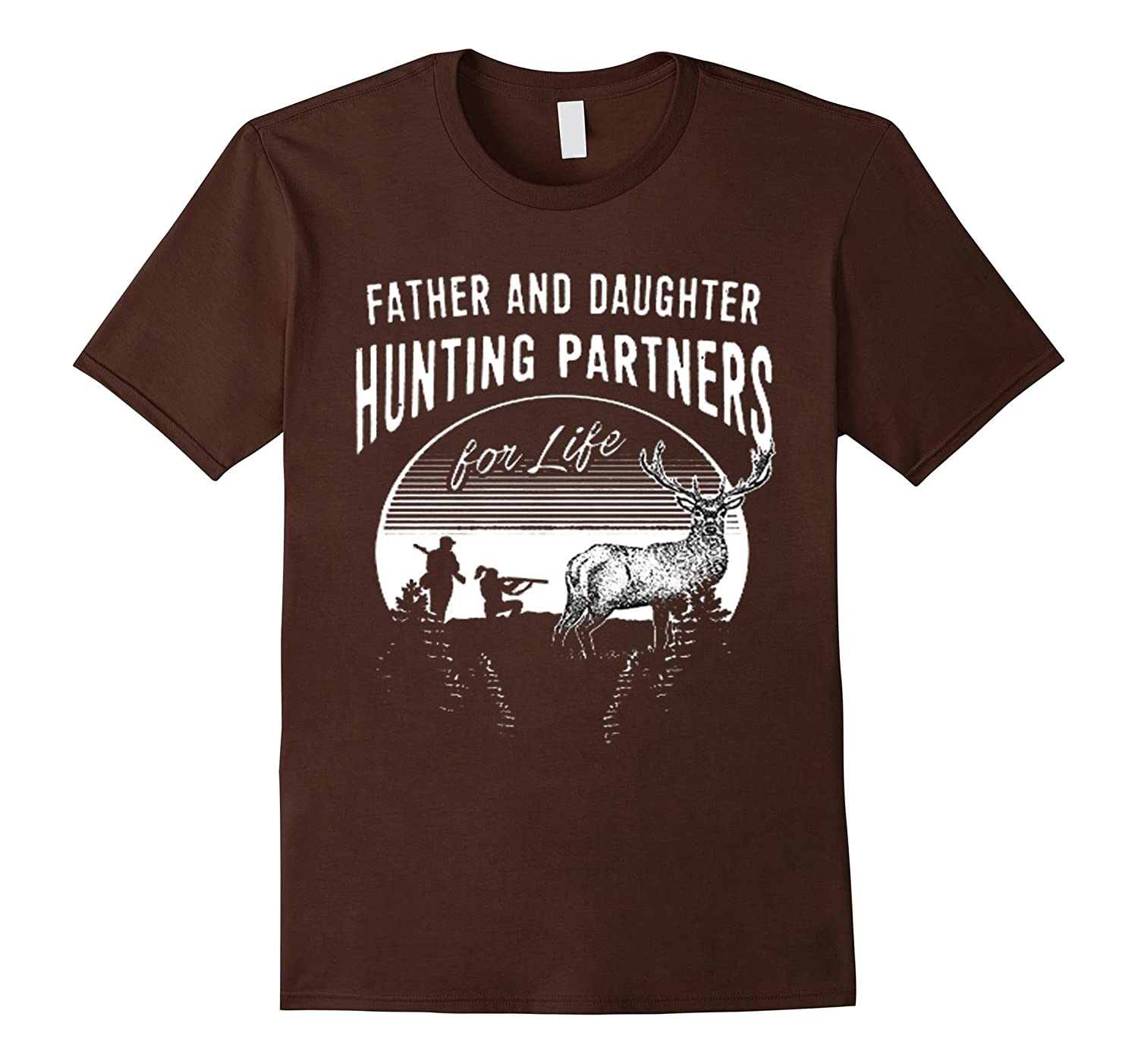 Father and daughter hunting t shirt christmas gift for dad for Christmas gifts for dad from daughter