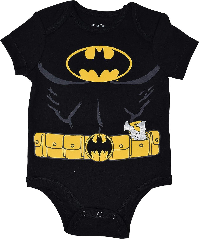 Batman Baby Boys/' 5 Pack Bodysuits Warner Bros