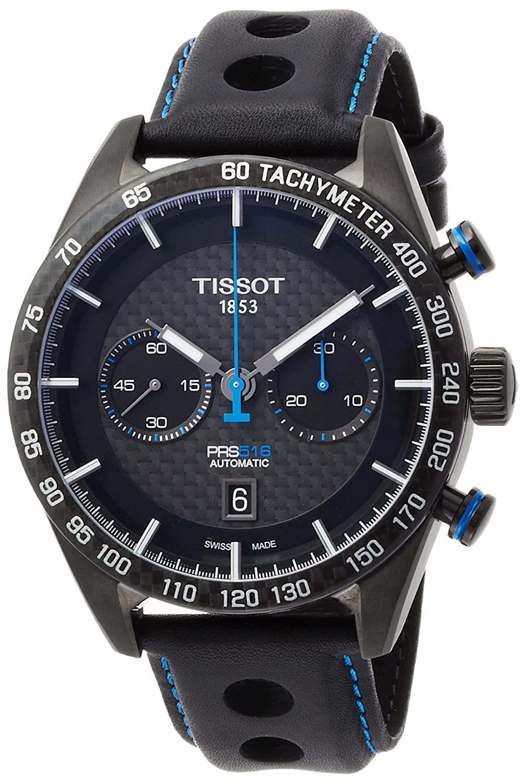 38c995b6dbf Amazon.com: Tissot PRS 516 Chronograph Automatic Mens Watch T1004273620100:  Watches
