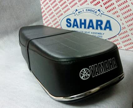 SaharaSeats Yamaha RX-100 Complete Seat Assembly with Beefing and Belt  (Black)