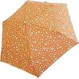 サンマルコ 折りたたみ傘 ミッフィー総柄/オレンジ 53cm 2402