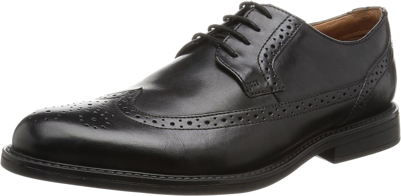 TALLA 42.5 EU. Clarks Beckfield Limit, Zapatos de Cordones Oxford para Hombre