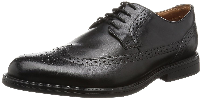 TALLA 41 EU. Clarks Beckfield Limit, Zapatos de Cordones Oxford para Hombre