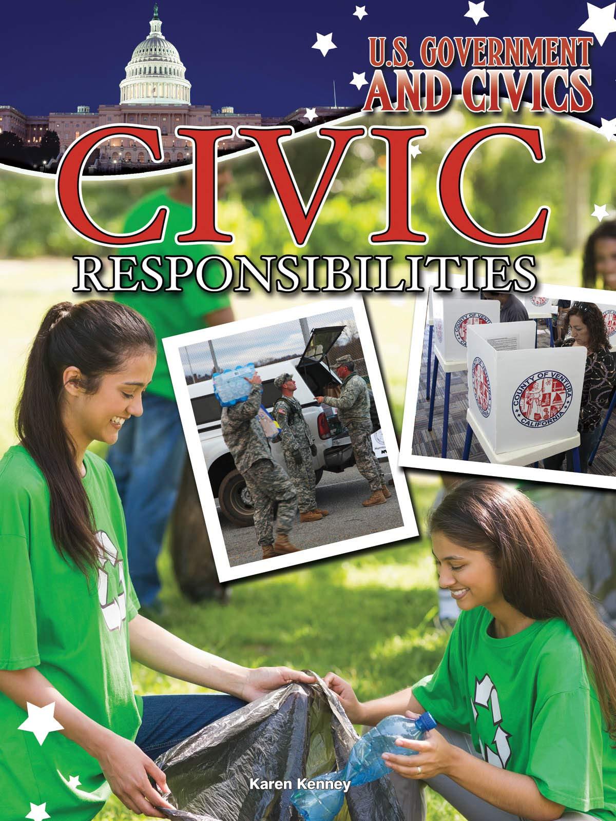 Download Civic Responsibilities (U.S. Government and Civics) pdf