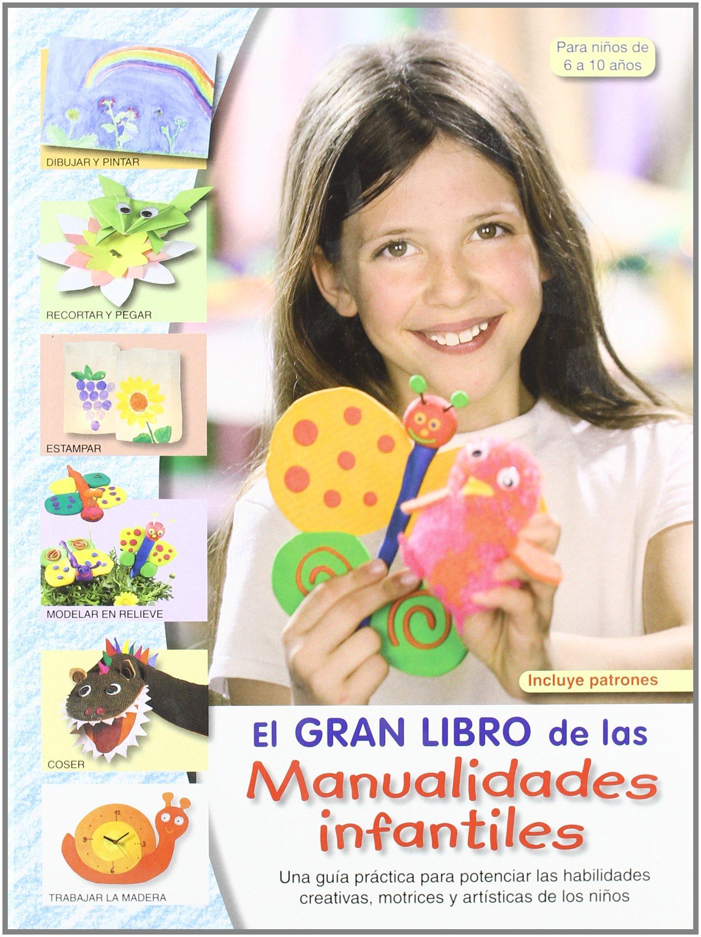 El gran libro de las manualidades infantiles - 9788498740875: Amazon ...