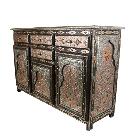 Casa Moro Orientalische Kommode Sideboard Schrank Marokkanisch Genna