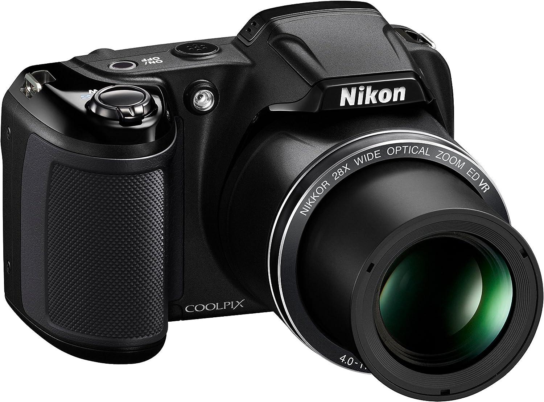 Nikon L340 - Cámara compacta de 20.2 Mp (pantalla de 3