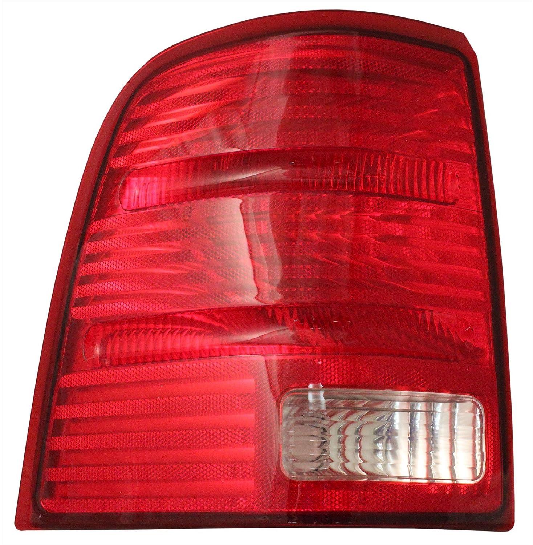 QP F035E-a Ford Explorer Driver Tail Light Lens /& Housing