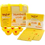 Teach My Bathtime Numbers, Yellow