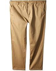 Nautica Men's School Uniform Wrinkle Resistant Stretch Pant