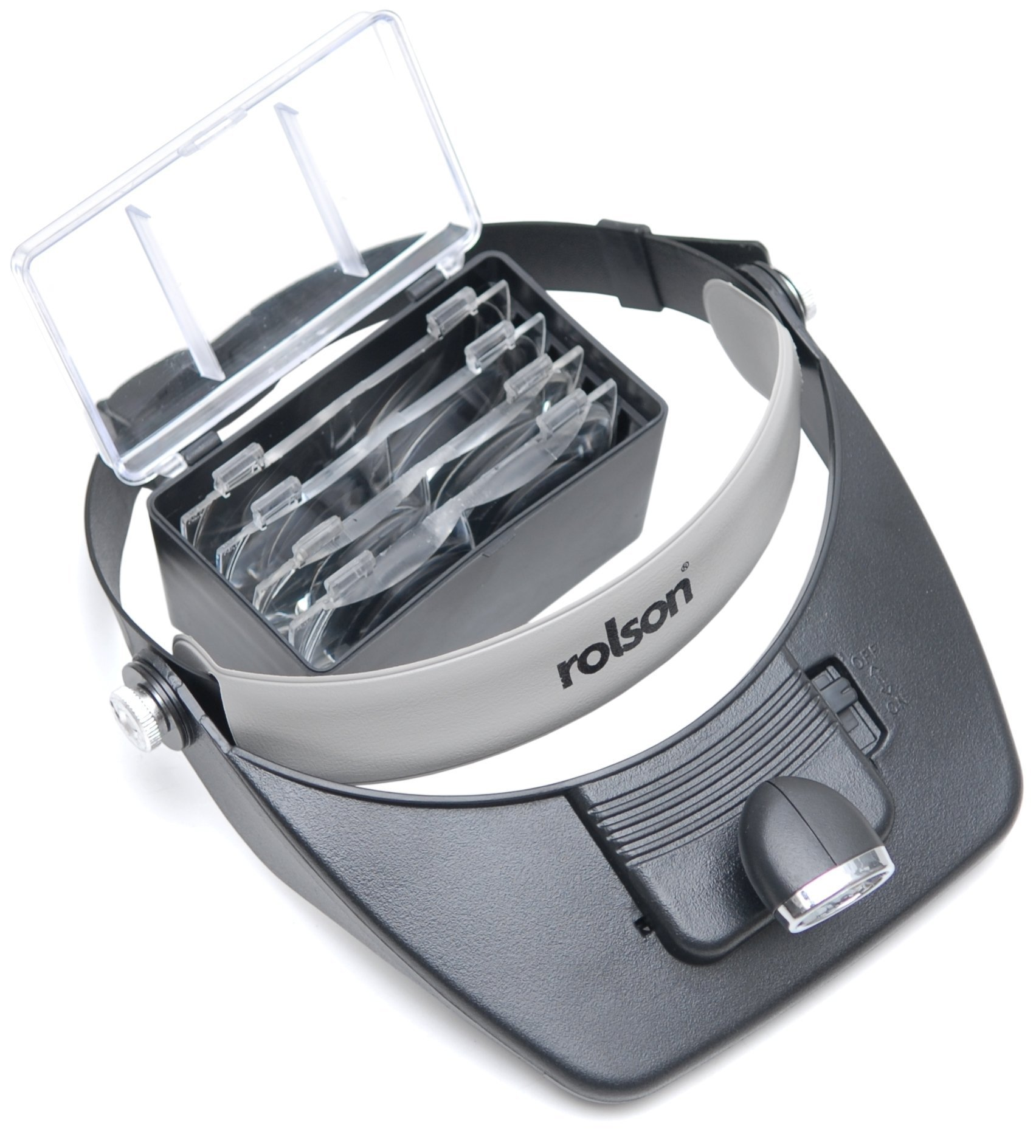 Rolson Tools 60390 Casque loupe LED (Import Grande Bretagne) product image
