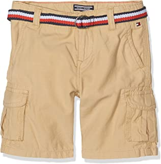 a15bc995 Tommy Hilfiger Boy's AME Cargo 3/4 Pant Shorts, Blue (Navy Blazer ...