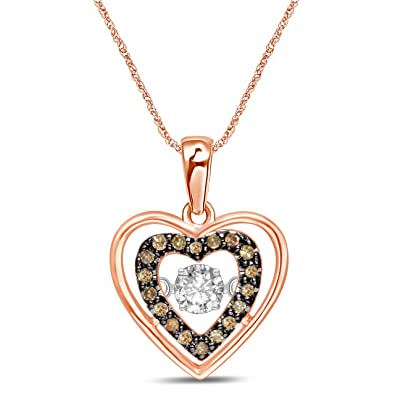 259847962f5d Image Unavailable. Image not available for. Color  Diamond Jewel 10K Rose  Gold ...