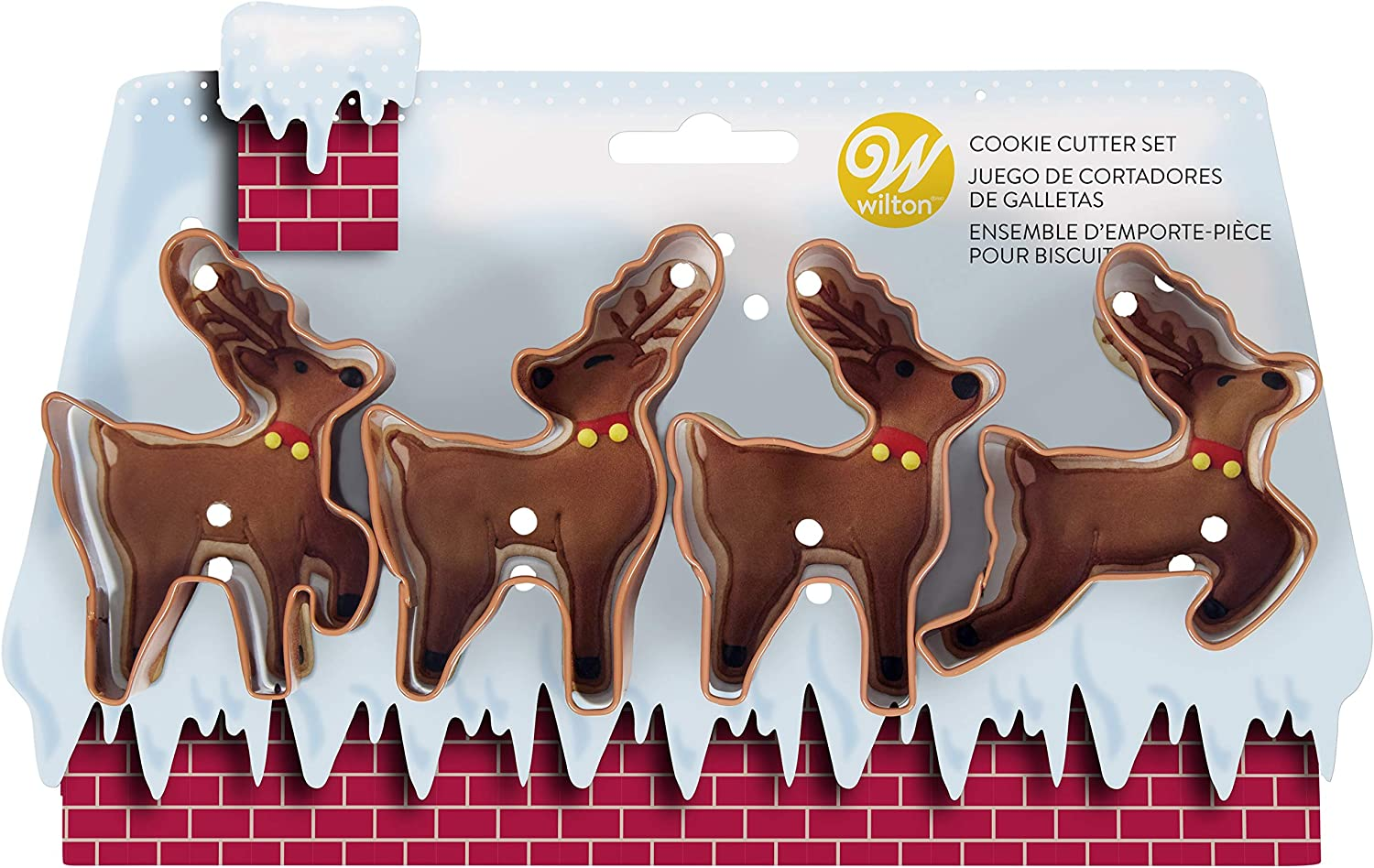 Non-Food Items COOKIE CUTTER SET REINDEER