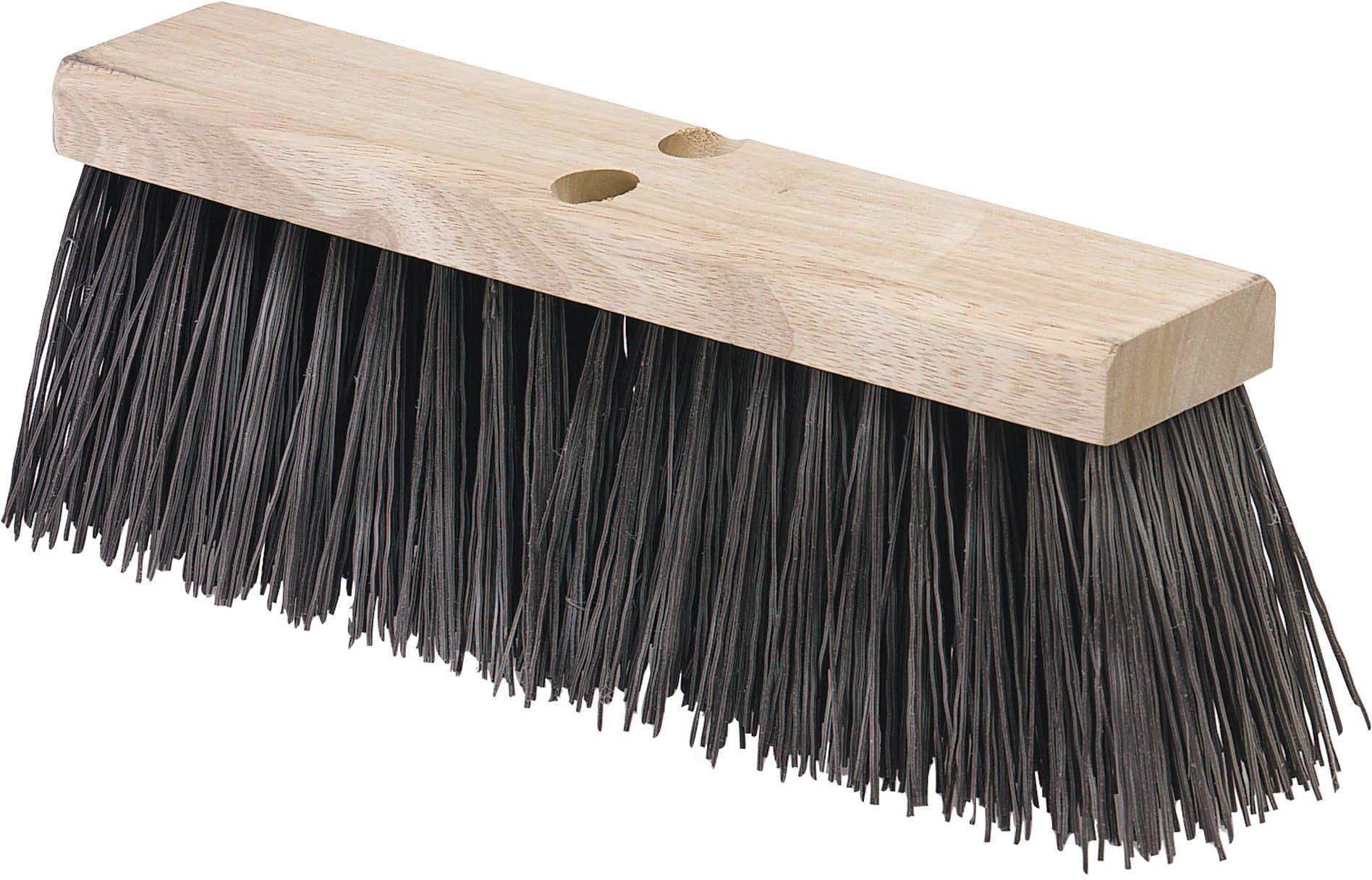 Carlisle 3611302401 Flo-Pac Hardwood Block Floor Sweep, Heavy Polypropylene Bristles, 5.13'' Bristle Trim, 24'' Length, Brown by Carlisle (Image #1)