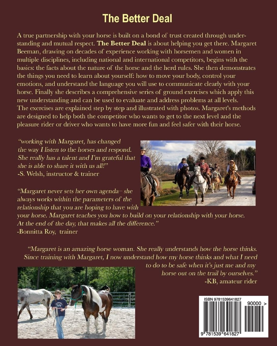 The Better Deal: Practical Horsemanship Training for You and ...