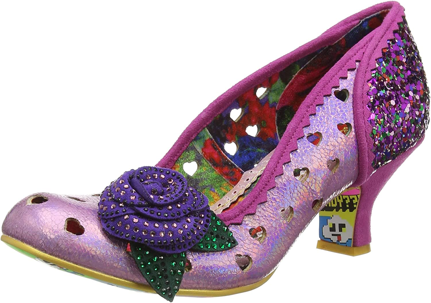 Escarpins Bout ferm/é Femme Irregular Choice Lady Ban Joe