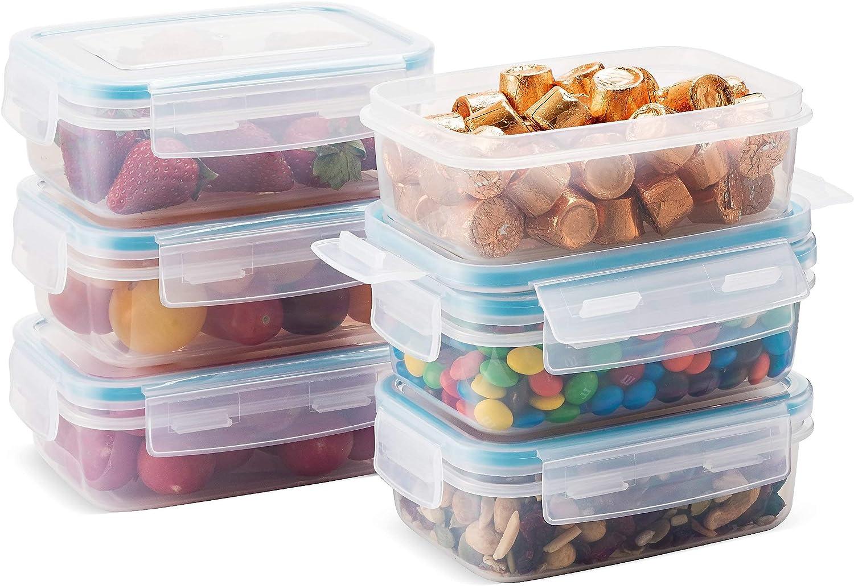 congelador y microondas herm/éticos Aptos para frigor/ífico sin BPA Lock /& Lock Bisfree Juego de 5/recipientes para conservar Alimentos con Tapa