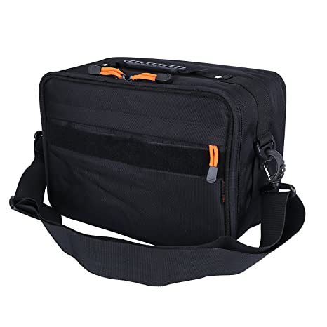 Security & Protection 6 Compartments Fishing Reel And Gear Bag Adjustable Reel Case Tackle Bag With Detachable Interior Divider Reputation First
