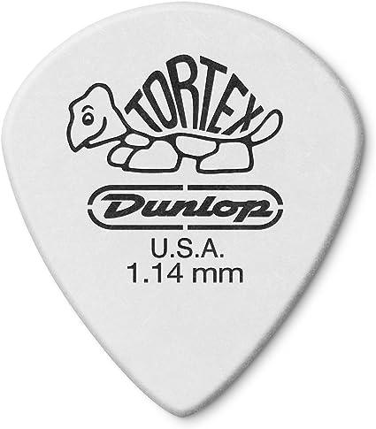 1.14MM Plettro Dunlop 478P1.14 TORTEX WHITE JAZZ III