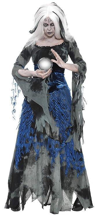 Smiffys Disfraz de adivina pecaminosa, con vestido y sobrevestido: Amazon.es: Juguetes y juegos