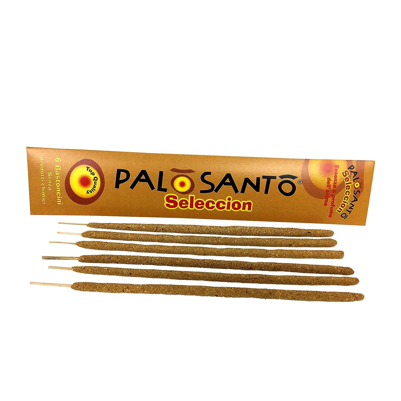 Incenso Naturale - Stick Bastoncini con Copal e Palo Santo 6 incensi Herborea Srl